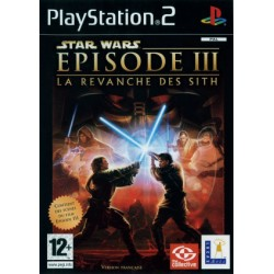 JEU PS2 STAR WARS : EPISODE 3 - LA REVANCHE DES SITH