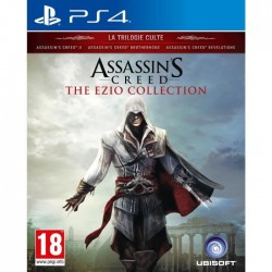JEU PS4 ASSASSIN S CREED : THE EZIO COLLECTION