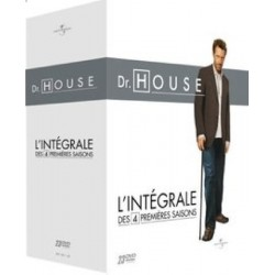 COFFRET 23 DVD DR. HOUSE, SAISONS 1 A 4