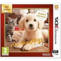 JEU 3DS NINTENDOGS ET CATS GOLDEN RETRIEVER NINTENDO SELECTS