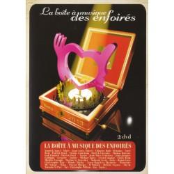 DVD LA BOITE A MUSIQUE DES ENFOIRES (COFFRET 2 DVD)