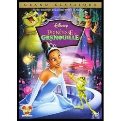 DVD DISNEY LA PRINCESSE ET LA GENOUILLE