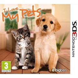 JEU 3DS I LOVE MY PETS (SANS BOITE)
