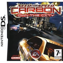 JEU DS NEED FOR SPEED CARBON : OWN THE CITY SANS BOITE