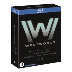 BLU-RAY - WESTWORLD, SAISONS 1 A 3
