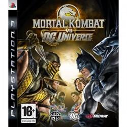 JEU PS3 MORTAL KOMBAT VS DC UNIVERSE