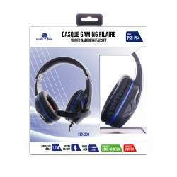 CASQUE SPX-200 PS5/PS4/XBOXONE/SERIES X/ SWITCH V.2 NOIR + MICRO
